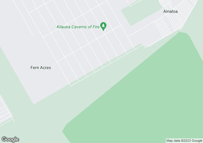 Map for Hawaii, Hawaii County, Kurtistown