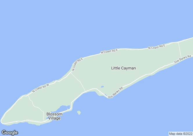 Map for Little Cayman East, Little Cayman