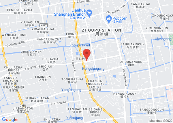 Map of 198 Hengqiao Road, Shanghai, China