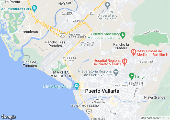 Map for Pelicanos S/N VA-F6 Vdel Country