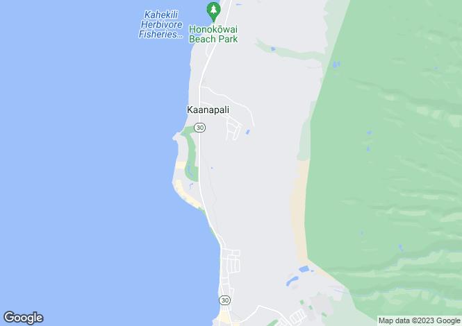 Map for USA - Hawaii, Maui County, Lahaina
