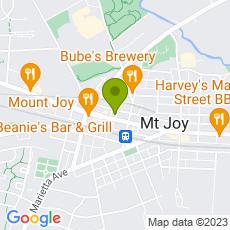 Staticmap?center=21+West+Main+Street%0D%0AMount+Joy+PA%2C+17552&zoom=14&size=230x230&key=AIzaSyAeTspGNxF9omrAnDm7RMuAOzLtrgwleEY&markers=color:green|21+West+Main+Street%0D%0AMount+Joy+PA%2C+17552&sensor=false