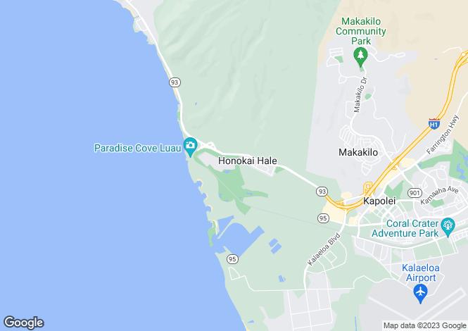 Map for USA - Hawaii