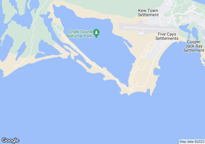 Map for Bahia Mar Villa, Taylor Bay Beach, Providenciales, Turks and Caicos