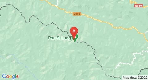 map of Phu Si Lung (China)