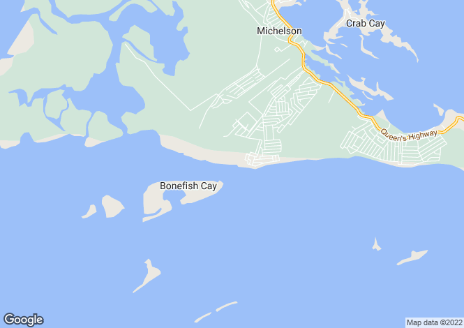 Map for Great Exuma