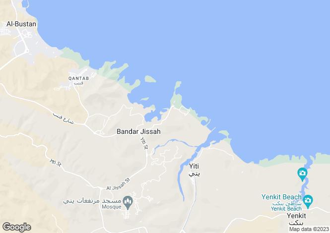 Map for Luxury Villa, Barr Al Jissah, Muscat