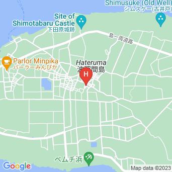 ゆったい&ラグーン/シェアハウス波照間の地図