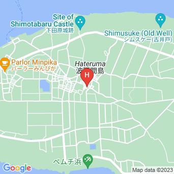 素泊まりハウス美波の地図