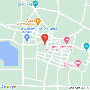 波照間診療所の地図