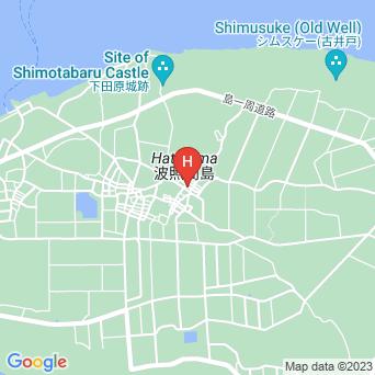 民宿照島荘の地図