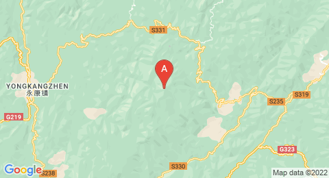map of Daxue Mountain (China)