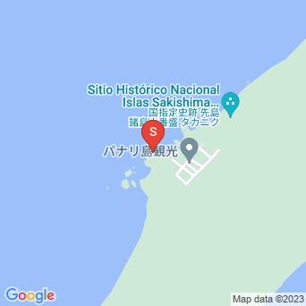 クイヌパナ(上地港横の石積展望台)の地図