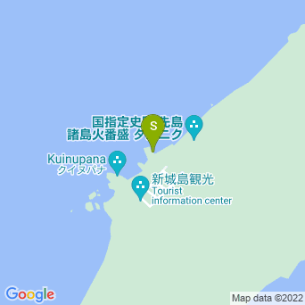 【黒島発パナリツアー】ダイビングサービス ふしまの地図