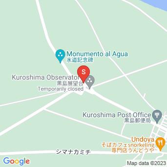 黒島小中のプズマリの地図