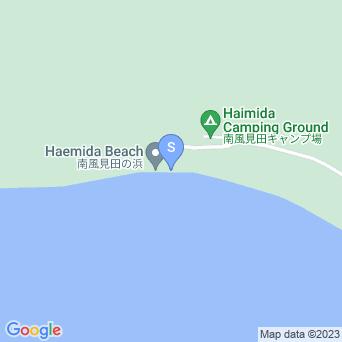 南風見田の浜の地図