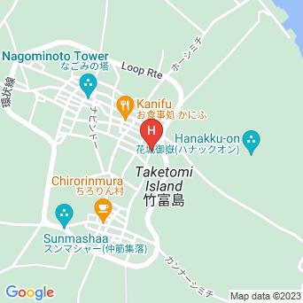 嶺本館の地図
