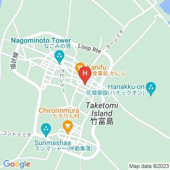 民宿仲盛荘の地図