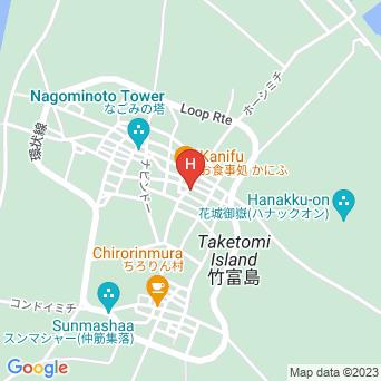 丸八民宿の地図