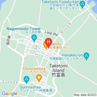 高那旅館の地図