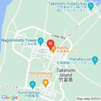 民宿にかい屋の地図