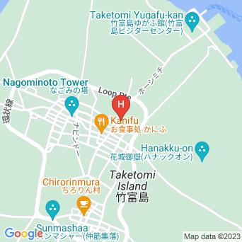 島宿 願寿屋の地図