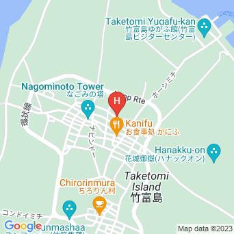 民宿松竹荘の地図