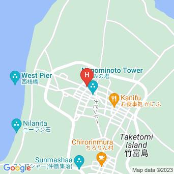 民宿泉屋の地図