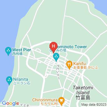 竹富島そうりゃの地図