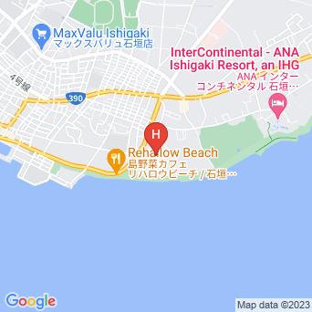 スカイマンション石垣島の地図