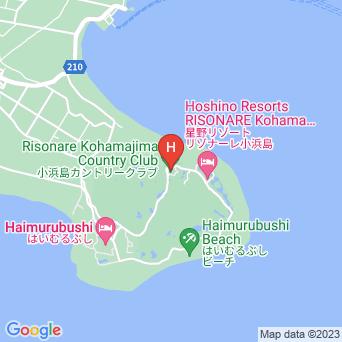 ホテルニラカナイ小浜島の地図