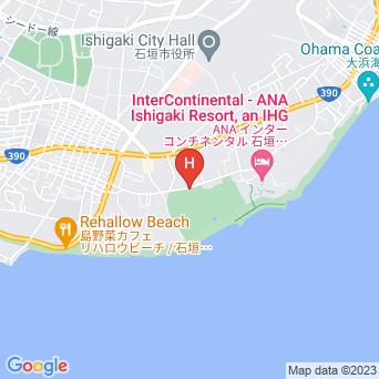 ホテルベストイン石垣島の地図