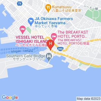 ピースアイランド石垣イン八島の地図