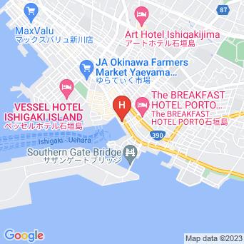 ホテルイーストチャイナシーの地図