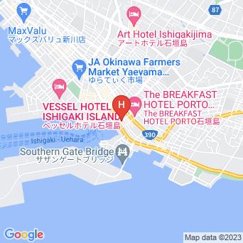 ホテルハッピーホリディの地図