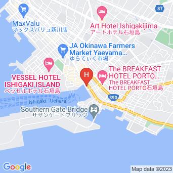 ブルーキャビン石垣島/ブルーカフェ石垣島の地図