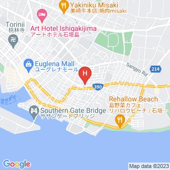 石垣島ウィークリーマンション 登野城家の地図
