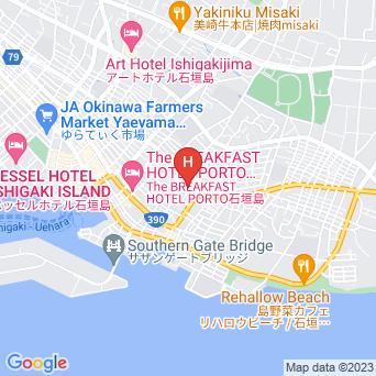 島宿ブルーとぅもーるの地図