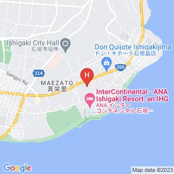 バスプレス石垣/創作イタリアン マエリスタの地図