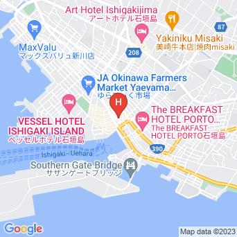 ホテルWBF公設市場の地図