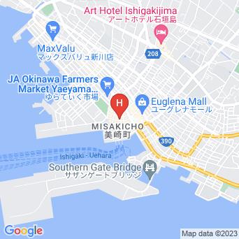 素泊まりペンション やいま日和の地図