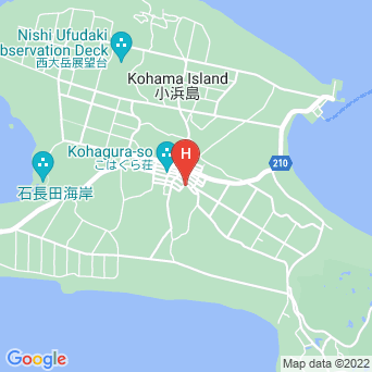民宿おもしろ荘の地図