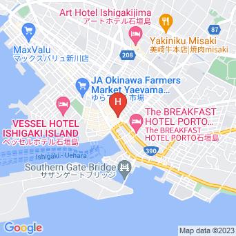 美ら宿 石垣島の地図