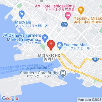 ホテル海邦の地図