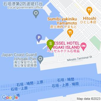 【新城島/浜島ツアー】かりほー商店の地図