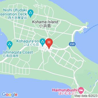 民宿かやま荘の地図