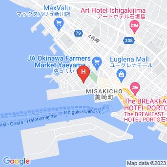 ベッセルホテル石垣島の地図