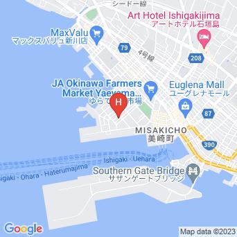 島宿 月桃屋の地図