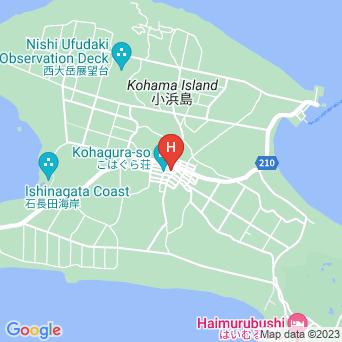 民宿うふだき荘の地図