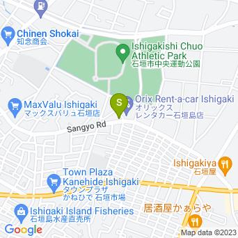 フジレンタカー石垣島営業所の地図